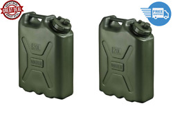 Bpa Durable 5 Gallon Portable Water Storage Container Green 2 Pack