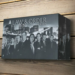 Law And And Order The Complete Series Seasons 1-20 Dvd 2011 104 Disc Box Set