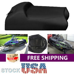 Seat Cover Synthetic Leather for Arctic Cat Puma Jag Deluxe 340 amp; 440 1997 1998 $50.39