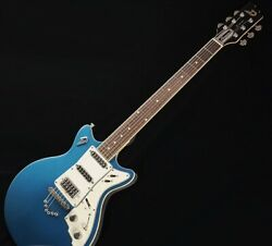 Used Duesenberg D-caster Toaster Version Lpb Solid Mahogany Body Hss W/hsc