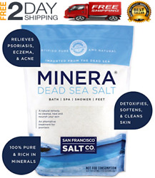 Dead Sea Salt, 19 Lbs. Fine. 100 Pure And Certified. Natural Treatment For Psor