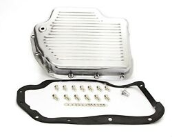Racing Power Co-packaged Transmission Pan Turbo 400 Polished Aluminum R8492