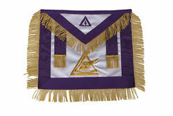 Masonic Council Past Illustrious Master Apron Hand Embroidered Ma-476-s