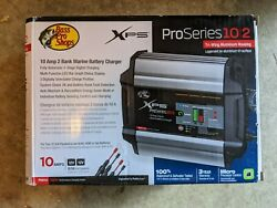 Bass Pro Shop Xps Pro Series 10 Amp 2 Bank Marine Battery Charger