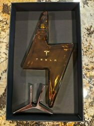 Tesla Tequila Decanter Bottle - Empty No Alcohol New