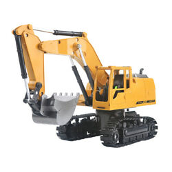 Construction Grapple Fork 8 Channel Radio Controlled Digger Tractor Toys Metal