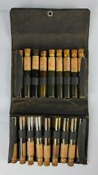 Rare Antique Salesman Sample Kit Todd Oil Co Cleveland Gas Oil Motor Tractor