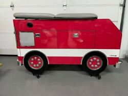 Frankie The Fire Engine Pediatric Table By Goodtime Medical Chiropractic Exam