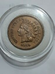 1859 Indian Head Cent Penny, Tougher Date 1st Year High Grade