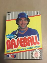 1989 Fleer Baseball Cards. 3 Wax Boxes. Great Cards Lowered Price