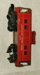A.c. Gilbert Co. American Flyer Lines 938 Caboose, Red. S Scale- Vintage Usa