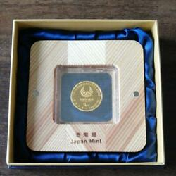 Tokyo 2020 Paralympic Games Commemorative Gold Proof Coin Settorchbearer Japan