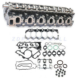 Cylinder Head Assy And Full Gasket For Toyota Coaster Hzb50 Hzb30 W/ 1hz Engine
