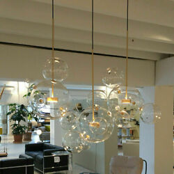 Glass Mickey Bubble Home Lighting Pendant Lamp Chandelier Ceiling Light Fixtures