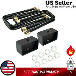 12pc 3 Front 3 Rear Lift Kit For 1995-2004 Toyota Tacoma 2wd 4wd Us Stock