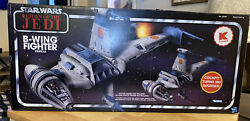 Star Wars Return Of The Jedi B-wing Fighter 2011 K-mart Exclusive New In Box
