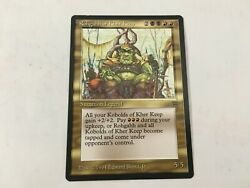 Magic The Gathering Single Card Rohgahh Of Kher Keep - Legends
