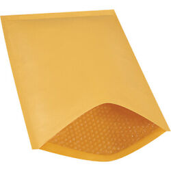 6 Kraft Bubble Mailers Padded Envelopes Heat Seal 12.5 X 19 Inch 250 Pack