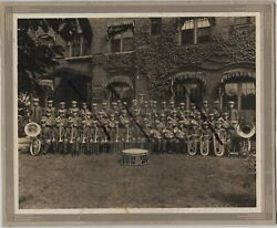 Detroit Usa Religion Salvation Army Brass Band Photograph Booth Hospital C.1925
