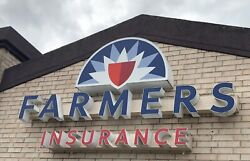 Farmers Insurance Outdoor Backlit Led Sign 10 Feet Wide By 6 Feet Tall