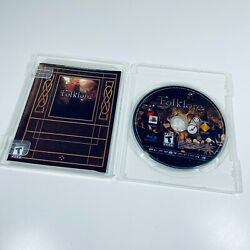 Folklore Sony Ps3 Playstation 3, 2007 - Disc Only W/ French Manual