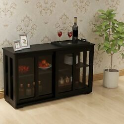 Kitchen Storage Sideboard, Antique Stackable Cabinet For Home Cupboard Buffet