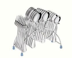 Stainless Steel Cutlery Set 24 Pc6 Pcs Dessert,baby And Tea Spoon And Baby Fork