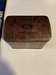 Old Antique Tee Tin Sweet Touch Nee Tee New York The Consolidate Tea Co Antique