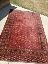 Bokhara Wool Vintage Antique Rug - Worth About 1200