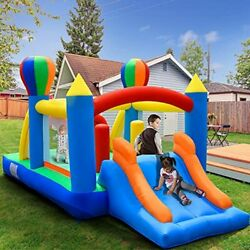 Inflatable Bouncer House 4 In 1jumping Castle For Kids Indoor Style 2