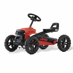 Berg Toys Buzzy Rubicon Pedal Powered Go-kart For Kids Ride On Toy, Red Used