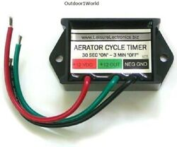 Leisure Electronics Lws-m Boat Livewell Aerator Pump Timer Module Brand New