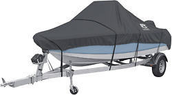 Classic Accessories Stormpro Heavy-duty Center Console Boat Cover Fits Boats 14