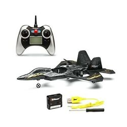 Top Race F22 Remote Control Fighter Jet Plane 4 Channel Quad Copter 6-axis Gyro
