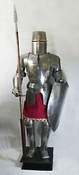 Templar Knights Full Suit Of Armour Wearable Larp Costume