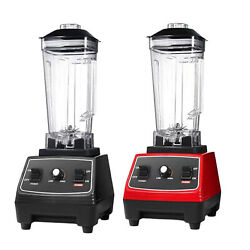 62 Oz Countertop Blender For Smoothies Ice Crush Frozen Fruit Puree Us Plug