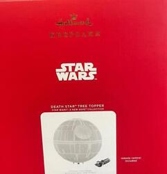 Hallmark 2021 Star Wars A New Hope Death Star Musical Tree Topper New With Box
