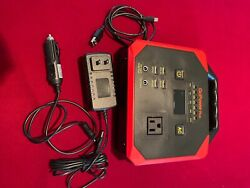 Go Power Plus Gp200 Emergency Portable Power Station With Weather Band Radio