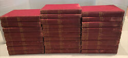 Antique Book Lot Of 27 Nations Of The World Greece American England Germany