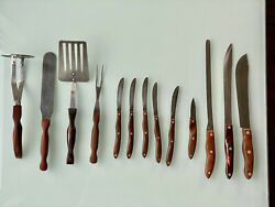 12 Cutco Knives And Utensils 22 1723 24 20 5x 59 26 1716 2814 Wood And Resin