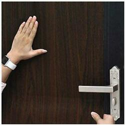 Wood Grain Dark Brown Contact Paper Removable Peel and Stick Wallpaper Texture