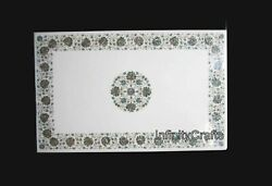 30 X 48 Inch Marble Coffee Table Top Mosaic Art Patio Table From Cottage Crafts