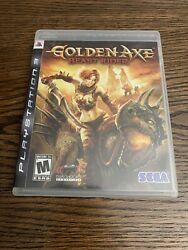 Golden Axe Beast Rider Ps3 Sony Playstation 3 2008 Complete Cib