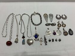 Antique Vintage Sterling Silver 925 Mixed Lot 212 Grams