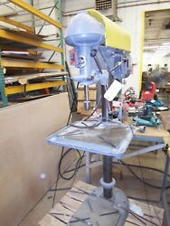 Walker Turner 20 Pedestal Drill Press With T-slot Table 220 3phase Missing Stp