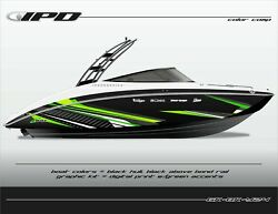 Ipd Boat Graphic Kit For Yamaha 242 Limited, Sx240, Ar240 Bk Design