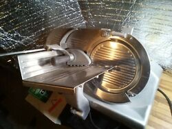 Hobart 2812 Manual Heavy Duty Commercial Meat Slicer. New Condition.