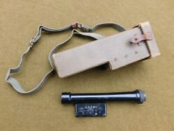 Wwii Japanese 4 Power Scope For Type 99 Arisaka Sniper Rifle With Carry Case 1