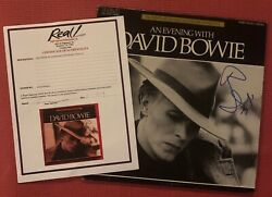 Epperson David Bowie Signed An Evening With Autographed 78and039 Promotional Album