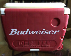 Vintage 1970's Budweiser Cooler Rareconcept. 2 Chairs Come With It.